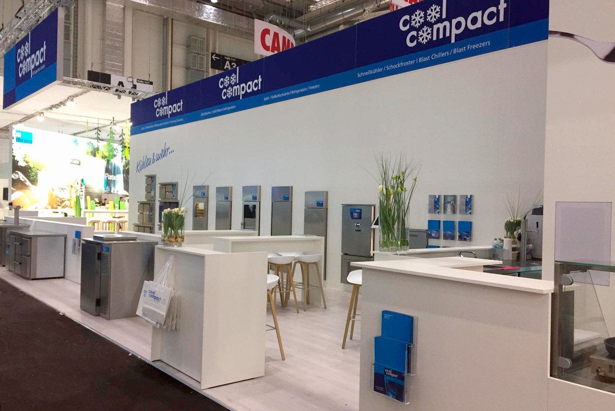 Messestand Cool Compact