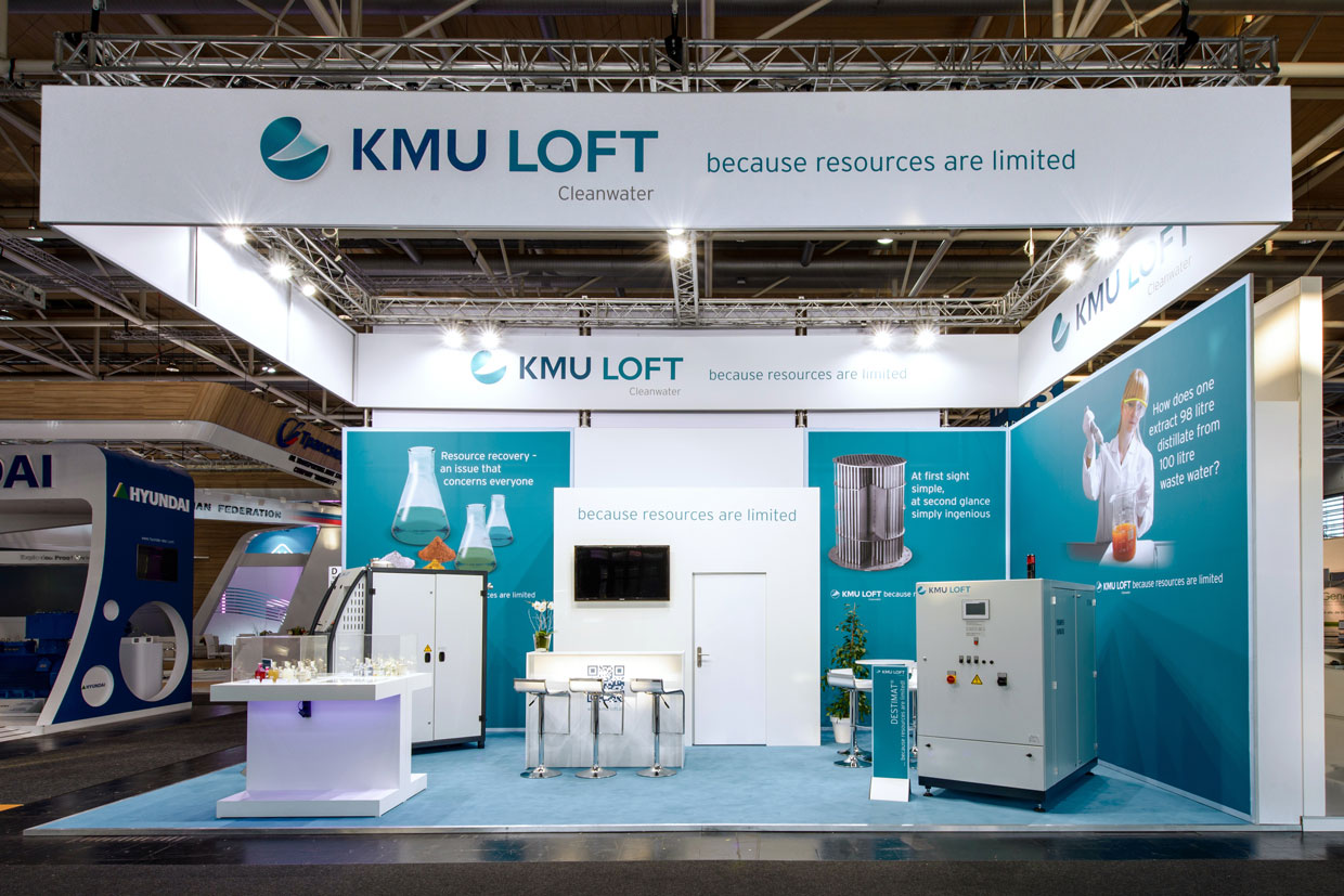 Messestand KMU-LOFT