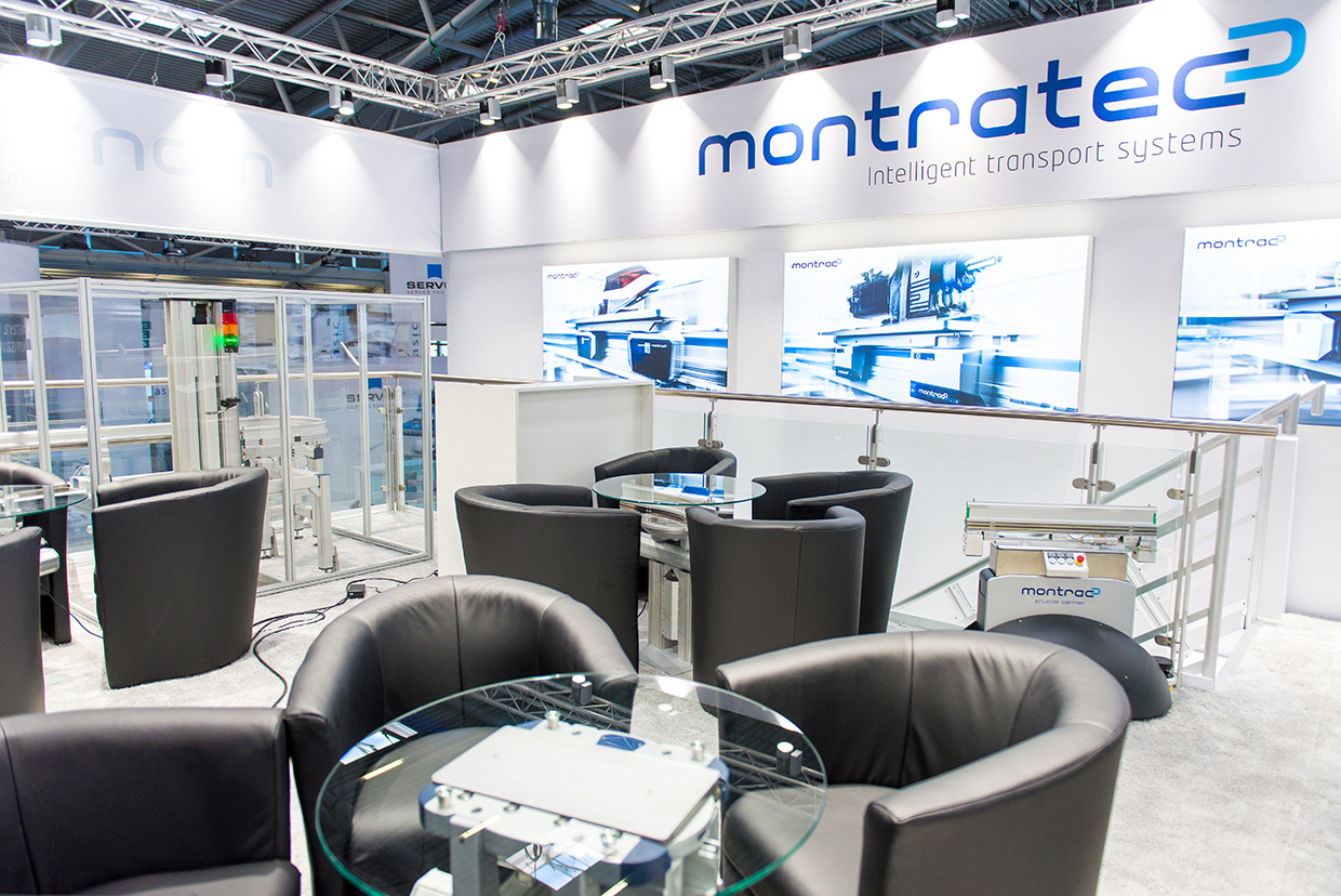 Messestand Montratec