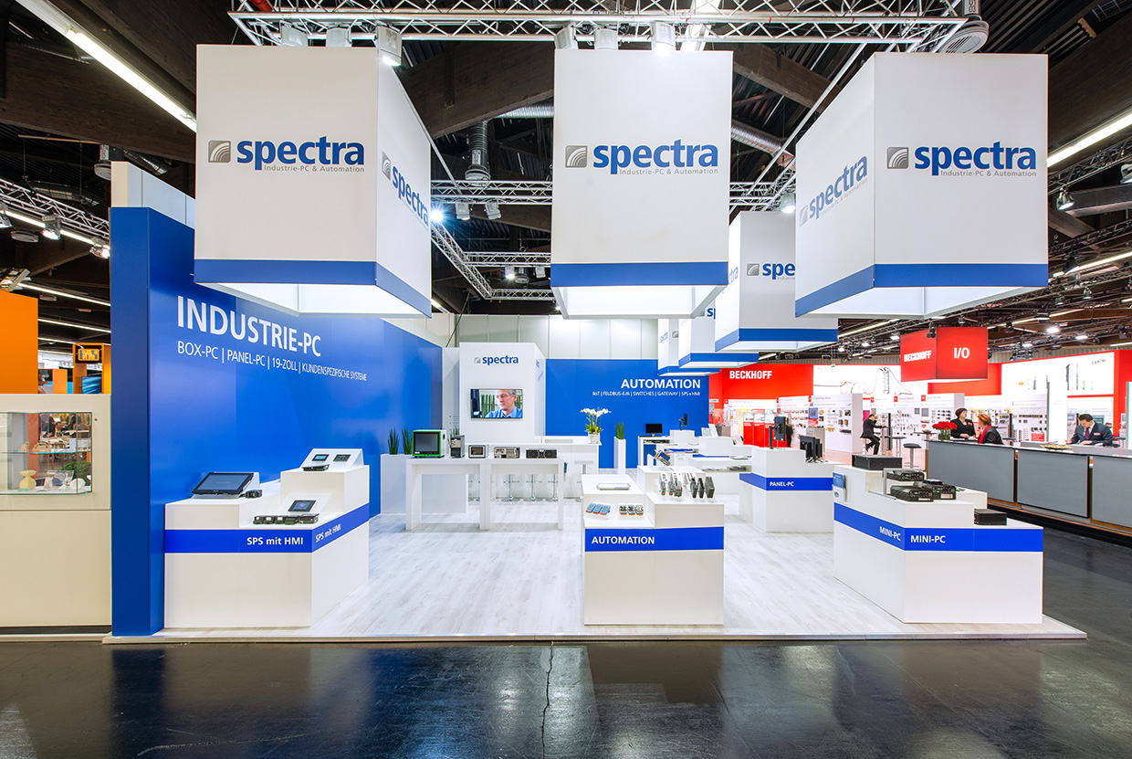 Messestand Spectra